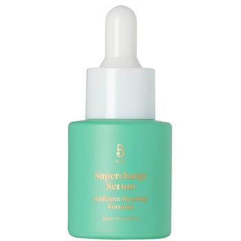 """BYBI Beauty Supercharge Serum er et næringsrikt, antiaging og reparerende oljeserum, et """"powerhouse"""" med squalene, fikenkaktus, jasmin og vannmelonfrøoljer. Balanserer normal, kombinert, tørr og sensitiv hud. En høykonsentrert behandling som peneterer huden i dybden og fungerer gjenoppbyggende på cellene. Helt naturlig og vegansk serum."""