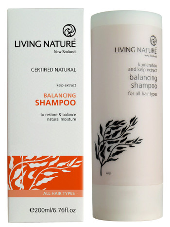 Living Nature Balancing Shampoo, 200 ml