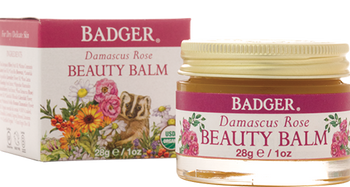 Badger Damascus Rose Beauty Balm, 28 gr
