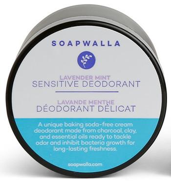 Soapwalla Deodorant Sensitive m/mint og lavendel, 57 gr