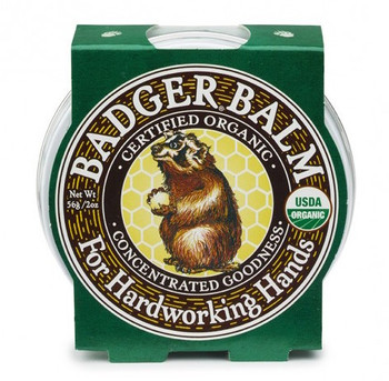 Badger Hardworking Hands Balm, 21 gr