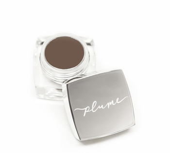 Plume Nourish & Define Brow Pomade, Chestnut Decadence