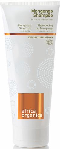 Africa Organics Mongongo Shampoo for farget hår, 210 ml