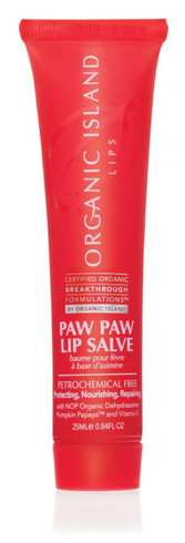 Organic Island Paw Paw Lip Salve, 25 ml