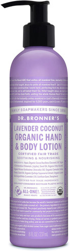 Dr. Bronner's Body Lotion Lavender Coconut, 237 ml