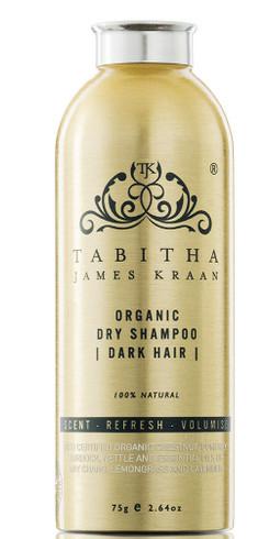 Tabitha Organic Dry Shampoo Mørkt Hår, 75g