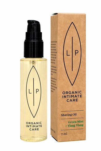 Lip Shaving & Moisturising Oil, Green Mint + Ylang Ylang, 75 ml