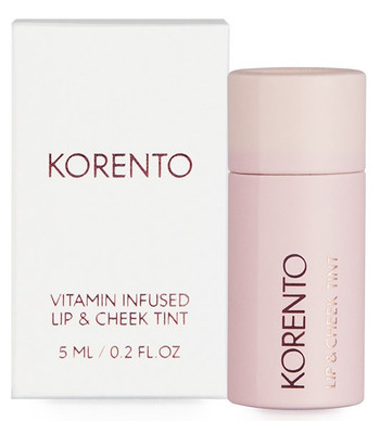 KORENTO Vitamin Infused Lip & Cheek Tint, 10 ml