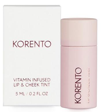 KORENTO Vitamin Infused Lip & Cheek Tint, 10 ml