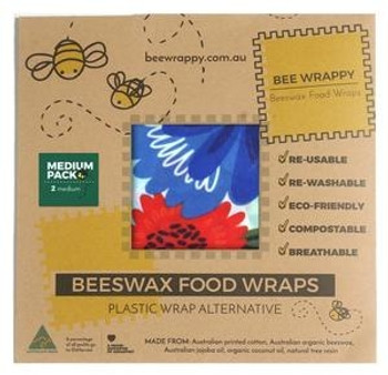 Bee Wrappy bivoksark 2-pack - Medium