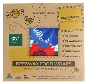 Bee Wrappy bivoksark 2-pack - Large