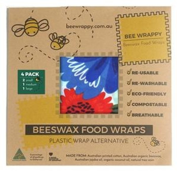 Bee Wrappy bivoksark 4-pack - Mixed