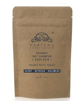 Tabitha Organic Dry Shampoo Mørkt Hår, 40 gr REFILL