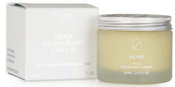 FLOW Hemp Deodorant Cream, 60ml