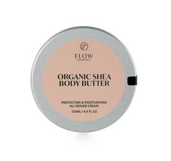 Flow 100 % Organic Shea Butter en hudbeskyttende og pleiende allsidig balm for hele kroppen