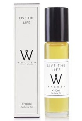Walden Live the Life Prefume Oil, 10 ml