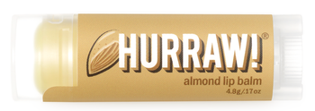 HURRAW! Lip Balm Almond, 4.8 gr