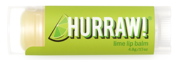 HURRAW! Lip Balm Lime, 4.8 gr