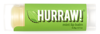 HURRAW! Lip Balm Mint, 4.3 gr