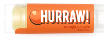 HURRAW! Lip Balm Orange, 4.3 gr