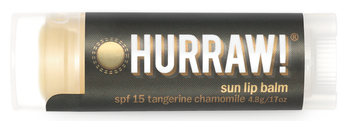 HURRAW! Lip Balm Sun Protection SPF15, 4.8 gr