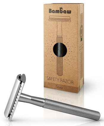 Bambaw Barberhøvel, sølv