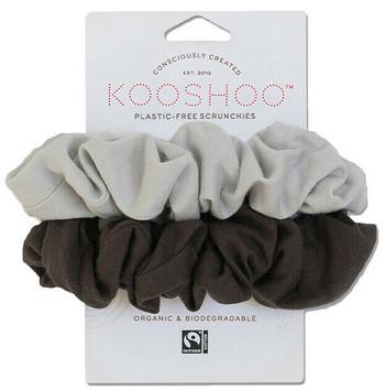 Kooshoo Scrunchies hårstrikk uten plast, Moon Shadow