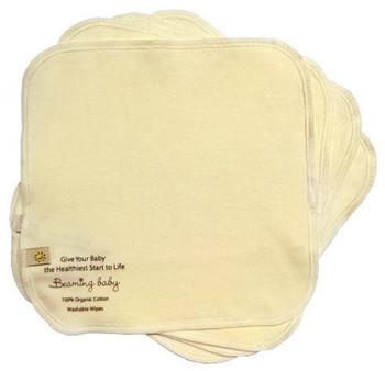 Beaming Baby Vaskbare Tørkekluter, 5stk (20cmx20cm)
