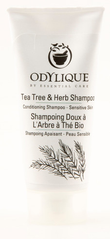 TESTER! Odylique Tea Tree & Herb Shampoo, 20 ml