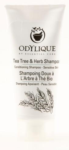 TESTER! Odylique Tea Tree & Herb Shampoo, 20 ml