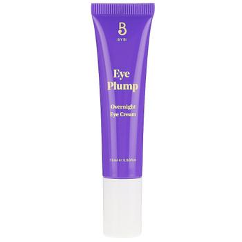 BYBI Beauty Eye Plumb er høykonsentrert, aktiv øyekrem som blant annet inneholder bakuchiol som bidrar til å jevne ut og stramme opp huden under øynene. Fuktighetsgivende og antiaging. Uten parfyme og essensielle oljer. Helt naturlig og vegansk.