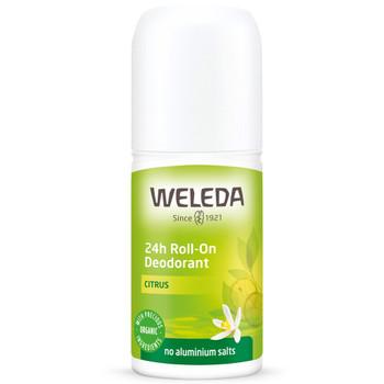 Weleda Cirus 24h Roll-on deodorant er helt naturlig  med citrus og helt uten aluminium.