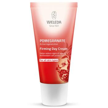 Weleda Pomegranate Firming Day Cream er en naturlig dagkrem med granateple som beskytter huden mot ytre skadelige faktorer, slik som eksosgasser, tørr inneluft og værforandringer.