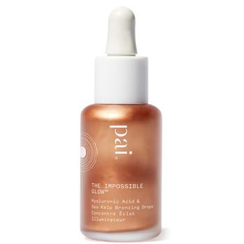 Pai Skincare økologisk Impossible Drops er en flytende bronzer med hyaluronsyre .
