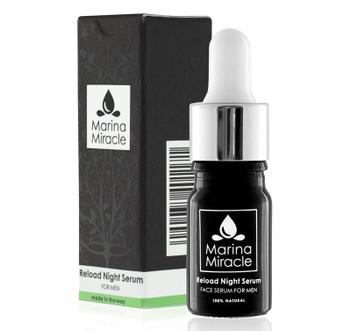 Marina Miracle Reload Night Serum for menn, 5ml