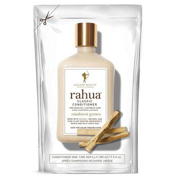 Refill til Rahua Classic balsam. Dette produktet kommer i en påfyllingspose til å fylle på flasken du har fra før.  Beskytt håret med en balsam som gir deg mykt, glansfullt og håndterlig hår. Rahuaoljen styrker svake og skadde tupper samtidig som den pleier hår, hårbunn og hårsekker. Passer for alle hårtyper og er ideell for farget hår.
