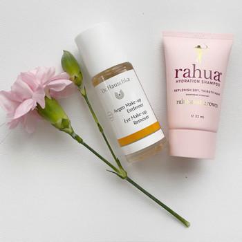 Gave på kjøpet - Dr.Hauschka Eye Makeup Remover og Rahua Hydration Shampoo