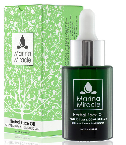 Marina Miracle Herbal Face Oil, 28 ml