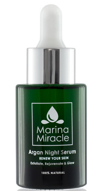 Marina Miracle Argan Night Serum, 28 ml