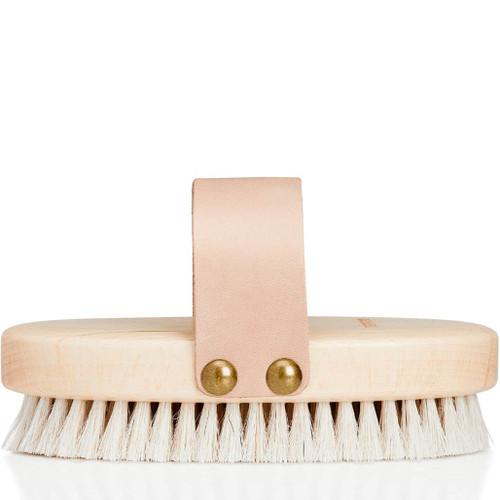 Karmameju BUFF Natural Body Brush tørrbørste med naturlig bust øker blodsirkulasjonen, fjerner døde hudceller og renser porene
