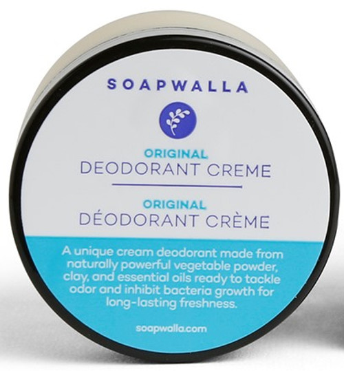 Soapwalla Deodorant Cream Original m/peppermynte 57gr