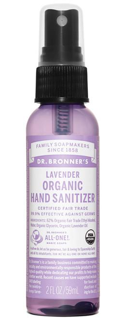 Dr. Bronner Naturlig Desinfeksjonspray, 59 ml