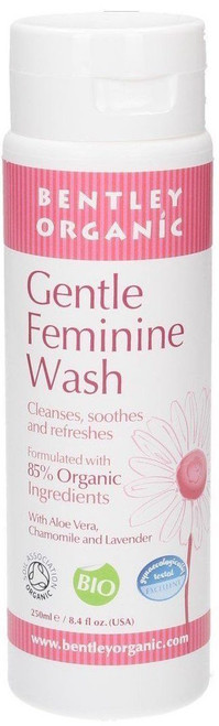 Bentley Organic Gentle Feminine Wash, 250 ml