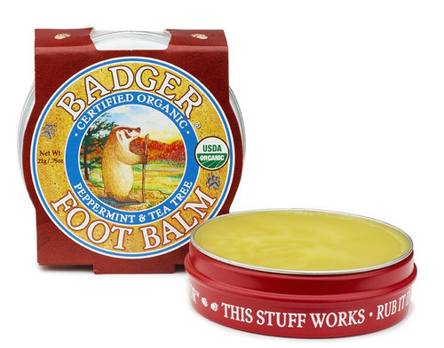 Badger Foot Balm, 21 gr