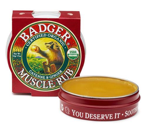 Badger Muscle Rub, 21 gr