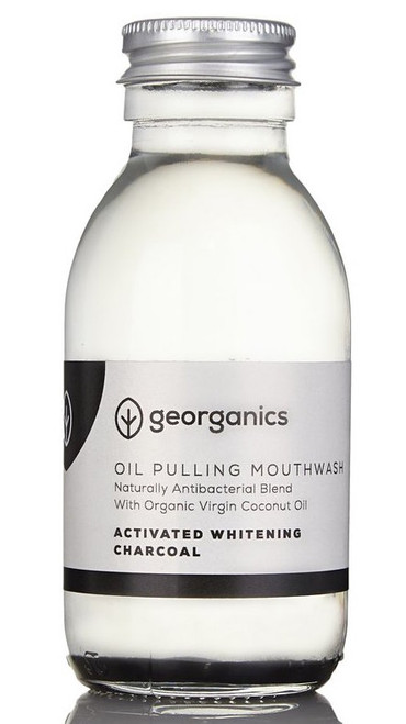 Georganics Oil Pulling Munnskyll, Charcoal 100 ml