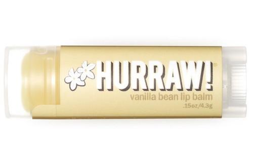 HURRAW! Lip Balm Vanilla Bean, 4.3 gr