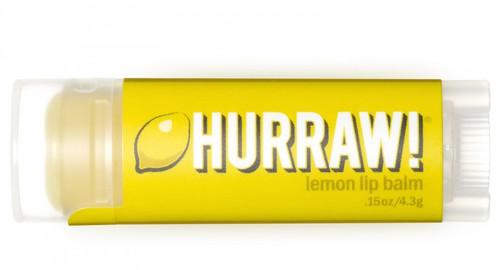 HURRAW! Lip Balm Lemon, 4.3 gr