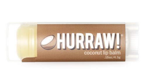 HURRAW! Lip Balm Coconut, 4.3 gr