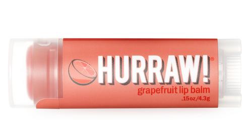 HURRAW! Lip Balm Grapefruit, 4.3 gr